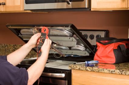 ремонт электрических и газовых плит