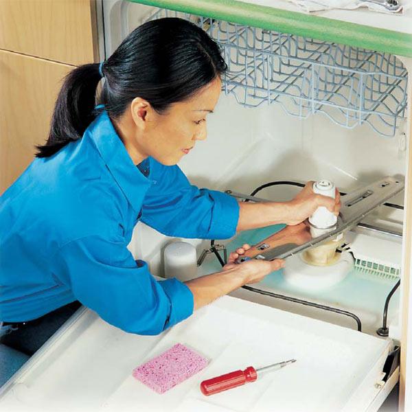 Ремонт посудомоечной машины своими руками фото